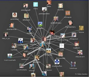 Map of Shannoninottawa\'s Twitter friends